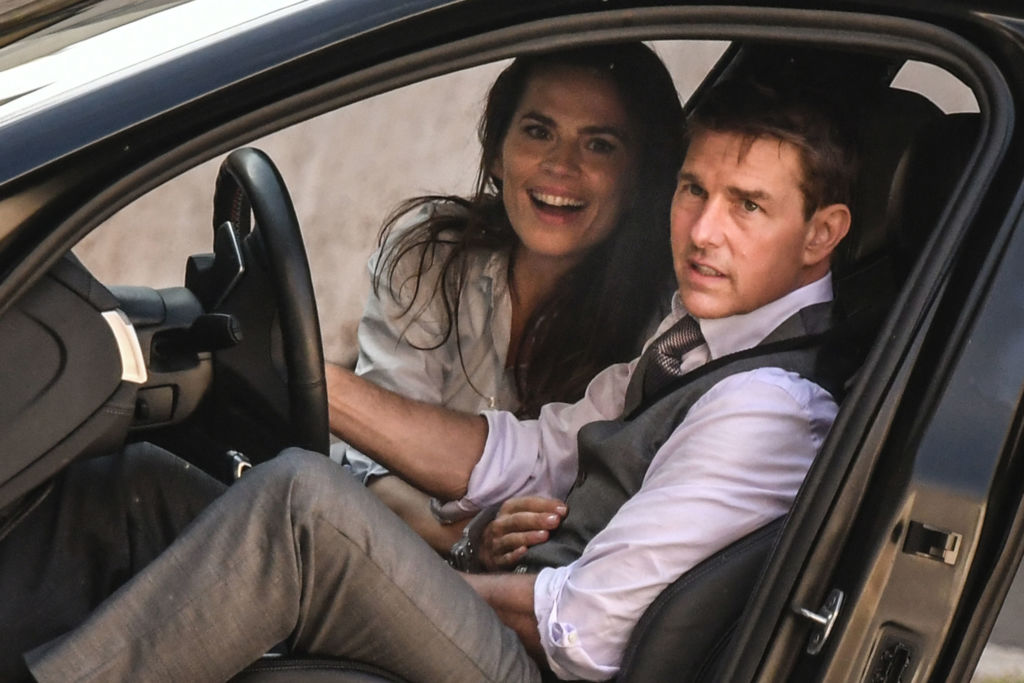 Haley Atwell et Tom Cruise, complices