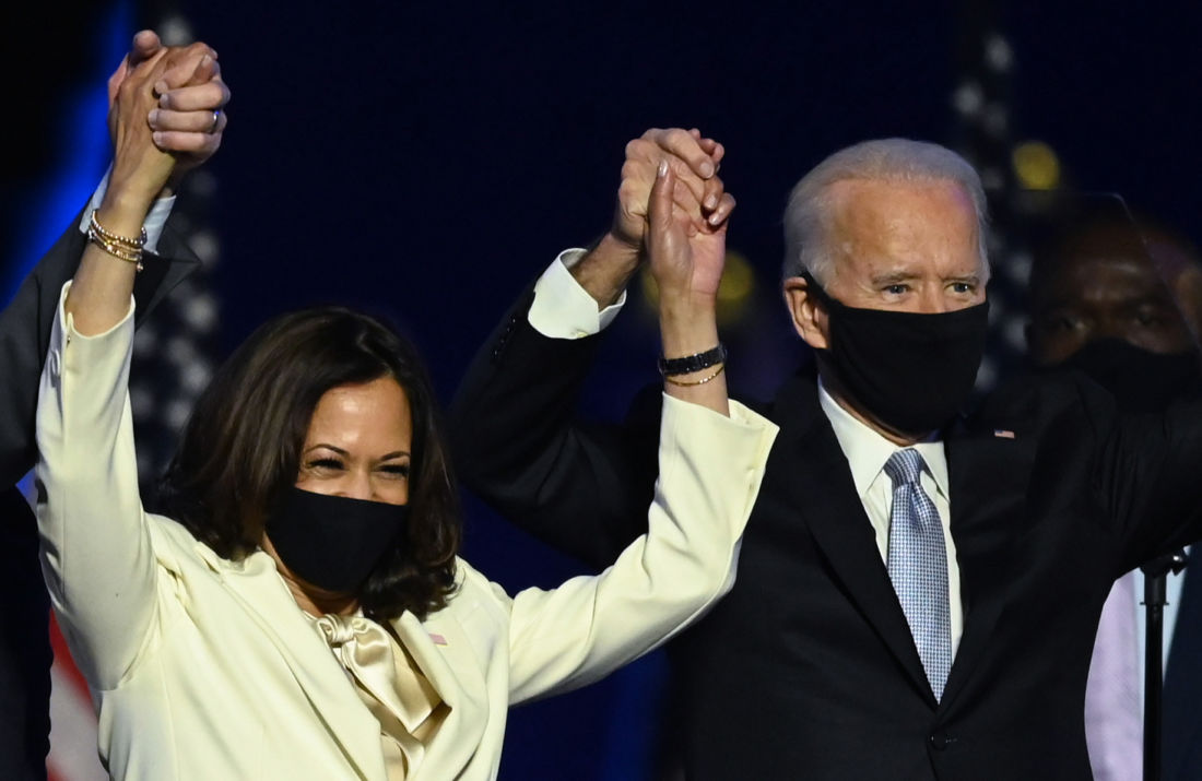 Joe Biden, Kamala Harris, Time