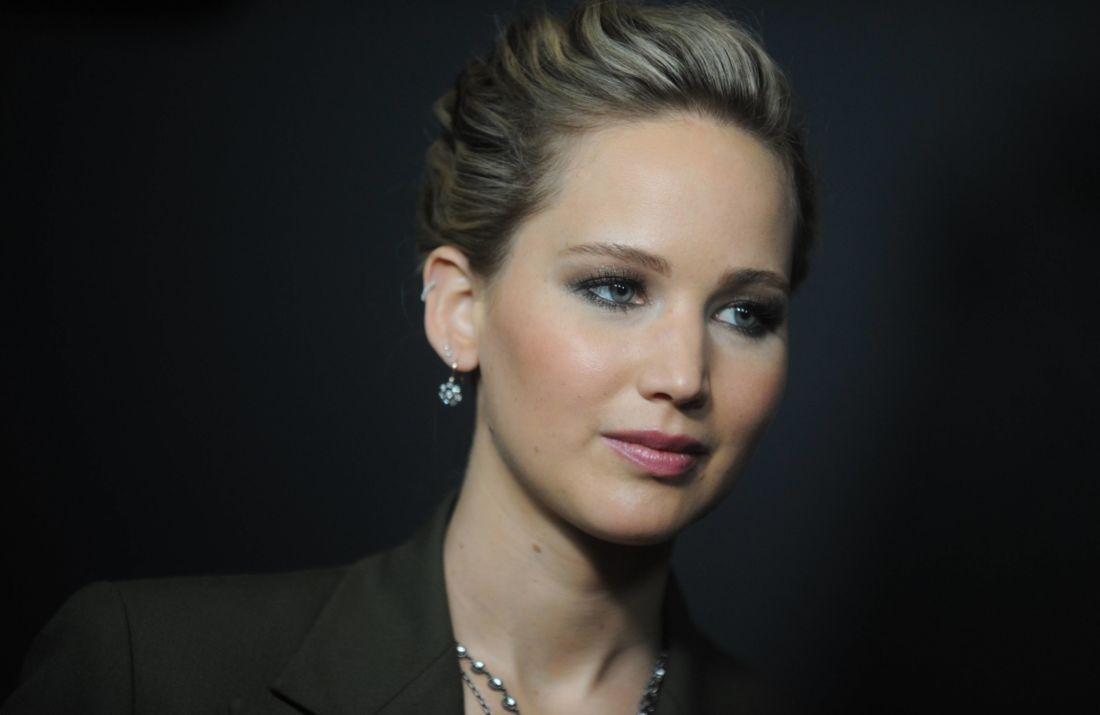 Jennifer Lawrence, tournage, accident