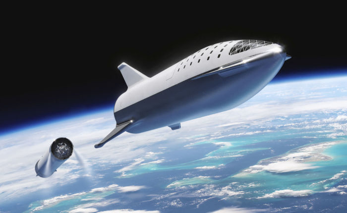 spacex starship lune nasa