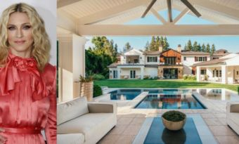 madonna house The Weeknd