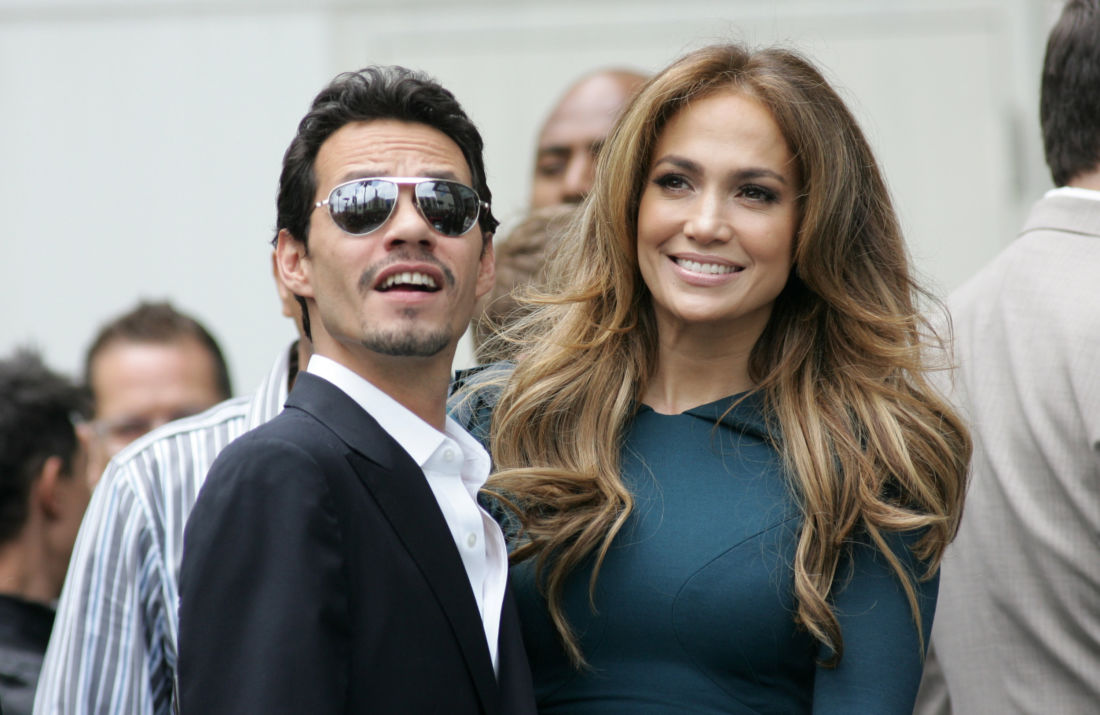 Jennifer Lopez soutenue par son ex-mari Marc Anthony après sa rupture