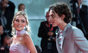 lily rose-depp timothée chalamet people