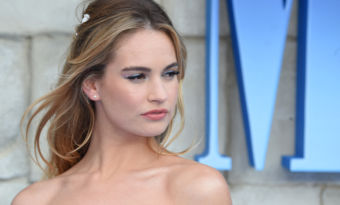 lily james pamela anderson