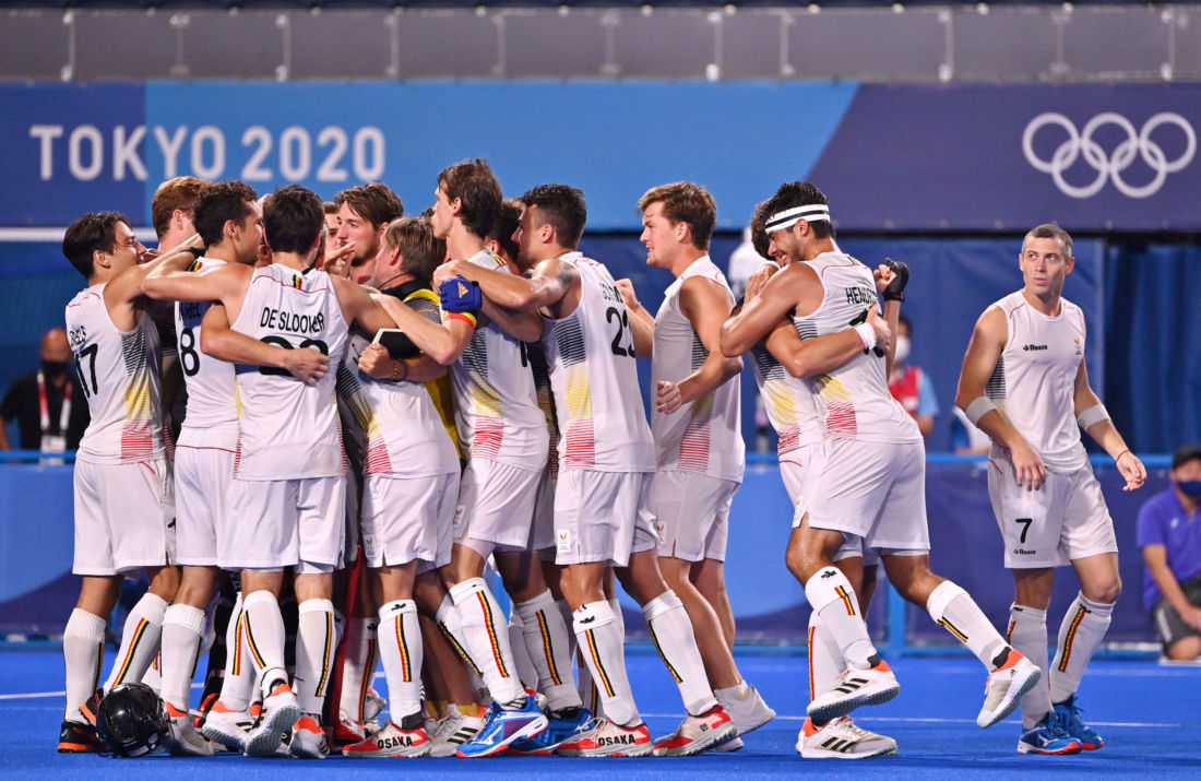 red lions belgique chamions olympiques